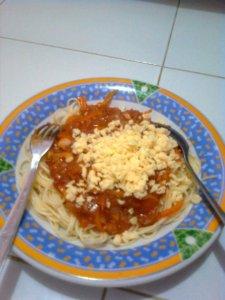 """Spaghetti ala Chef Parah Kuwin"""